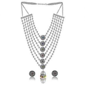 Oxidized Silver Jewel Set_cover