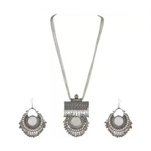 Oxidized Silver Jewely Set_cover